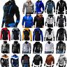 Men Winter Warm Hoodie Sweater Jumper Coat Jacket Hooded Sweatshirt Outwear Tops