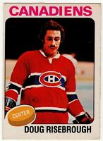 1975-76 DOUG RISEBROUGH ROOKIE MONTREAL OPC O PEE CHEE  HOCKEY CARD #107
