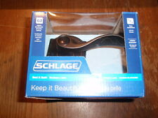 SCHLAGE BED & BATH CAMELOT G2 AGED BRONZE ACCENT LEVER HANDLE-#F40 V ACC 716 CAM
