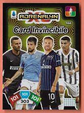 CALCIATORI ADRENALYN PANINI 2020-21 2021 CARD N.466 CARD INVINCIBILE