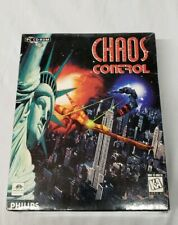 Vtg 1995 Chaos Control PC CD ROM Brand New Sealed Big Box Computer fighter
