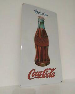 Insegna Coca Cola Vintage Modernariato Latta