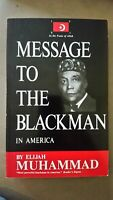 Message to the Blackman in America by Elijah Muhammad Brand New!