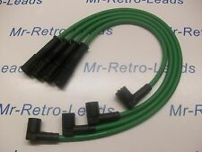 GREEN 8MM PERFORMANCE IGNITION LEADS FIAT CINQUECENTO SEICENTO 1.1 SPORTING HT