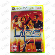 Lips Game for Xbox 360 Requires Lips Microphones *1ST CLASS POST*