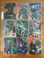 1997 Fleer/Skybox - Marvel vs. Wildstorm - 50 Trading Cards w/ specials