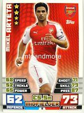 Match coronó 2014/15 Premier League - #009 mikel arteta-Arsenal