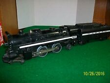 Lionel O scale Steam Engine 2-4-4 # 8604 With Wabash Tender