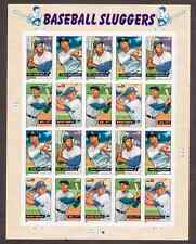 Scott #4080/3...39 Cent...Baseball Sluggers...Pane of 20 Stamps