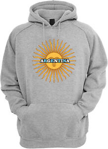 Argentina Sweater Hoodie Color Black,Red,Grey For Men