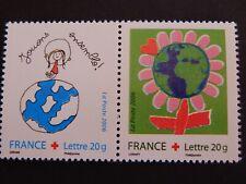 FRANCE 2006 CROIX ROUGE P3991 (3991+3992) NEUF** SANS CHARNIERE