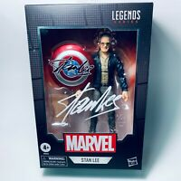 Marvel Legends STAN LEE w/ Capt Am Shield & Chessboard 6in Figure NEW IN STOCK