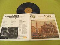 Corelli Concerti Grossi Kuijken SQ Quadraphonic Harmonia Mundi Audiophile LP NM