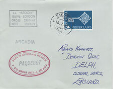 Netherlands 4236 - 1970  PAQUEBOT cover to England