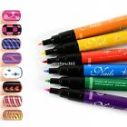 DIY Design Drawing Painting Striping UV Gel Polish Brush Pen Nail Art Tools N4U8