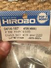 Hirobo #0414-187-CLUTCH BELL WITH GEAR-12T-Helicopter Part-RARE