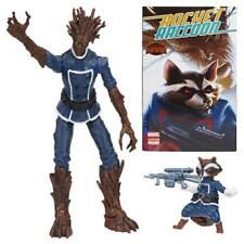 Marvel Legends Guardians of The Galaxy Series Rocket Raccoon & Groot 2015 MOC