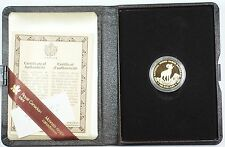 1985 Canada National Parks $100 Dollar 1/2 Oz Gold Proof Coin as Issued WW