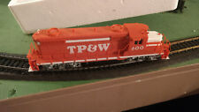 HO scale Proto 2000 GP18Toledo Peoria and Western RR Locomotive  Vintage Rare