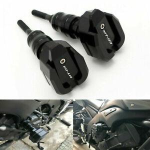 For YAMAHA MT-03 MT03 MT09 R3 CNC Aluminum Sliders Crash Pads Engine Protector