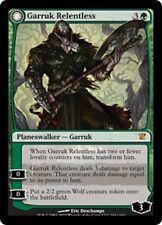 x 1 Garruk Relentless / the veil-cursed Garruk l'Implacable innistrad  magic mtg