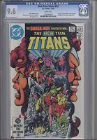 New Teen Titans #24  CGC 9.6 1982 DC Comic Camelot 3000 begins as insert
