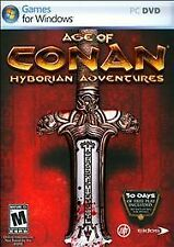 PC Game Age of Conan : Hyborian Adventures 2-disk for Windows FREE SHIPPING