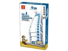 Burj Al Arab Hotel Dubai Building Blocks Bricks  - Wange