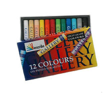 Inscribe Artists Oil Pastels - 12 Colours