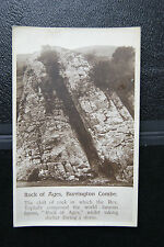 Rock Of Ages Burrington Combe Augustur Toplady Vintage RP Postcard Chapman & Son