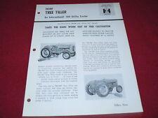 International Harvester Tree Tiller for 300 Tractor Dealer's Brochure