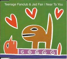 TEENAGE FANCLUB & Jad Fair Near 3 UNRELEASE CD single