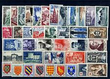 FRANCE ANNEE COMPLETE 1954 NEUF ** SANS CHARNIERE