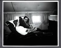 BOAC BOEING STRATOCRUISER CABIN SEATS LARGE ORIGINAL B.O.A.C. STAMPED PHOTO