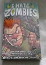 I HATE ZOMBIES CARD GAME BRAND NEW & SEALED