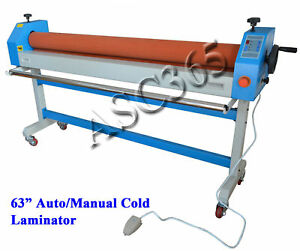 Metal Construction 63In/1600MM 110V Automatic/Manual Cold Laminating Machine