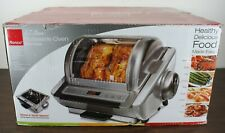 Ronco 5270Ss Ez Store Stainless Showtime Rotisserie Digital Bbq Oven New OpenBox