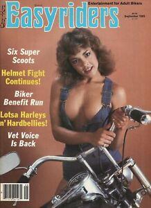 1983 September Easyriders - Vintage Motorcycle Magazine with David Mann Poster