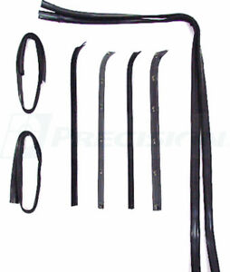 NEW Weatherstripping Beltline Molding Kit / FOR 73-79 FORD F100 F250 F350 TRUCKS