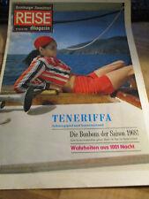 Hamburger Abendblatt Reise Magazin 20. Januar 1968 Teneriffa 1001 Nacht