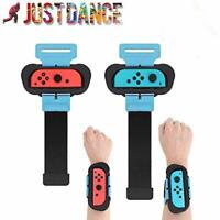 2 Pack Wrist Bands for Nintendo Switch Just Dance 2021/2020/2019, Adjustable