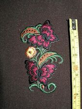 3 each  Butterflies in air Iron On Embroidered Patch Applique