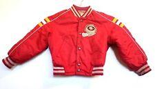 Vintage Nylon NFL 1970's 49ers Stahl Urban Football Snap Jacket Youth Size 5