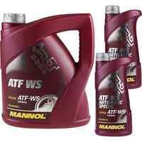 6 Liter Original MANNOL ATF WS Automatic Special Automatikgetriebeöl Gear Oil
