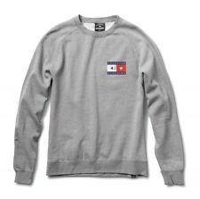 1ffdb42fd56 Fourstar Skateboards Clothing Men s Lockwood Bar Crew Grey Sweatshirt  Sample L
