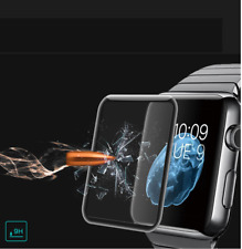FULL SCREEN CURVED EDGE TEMPERED GLASS PROTECTOR For Apple Watch Series 3 42mm