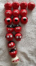 More details for comic relief - red nose day noses x 17  bundle job lot 2017