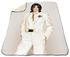 Michael Jackson Winter Blanket NEW Fleece Dangerous Thriller Billie Jean Beat It