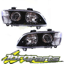 PAIR HEADLIGHTS SUIT VE COMMODORE SERIES 1 06-10 SSV PROJECTOR HEADLAMPS LIGHTS