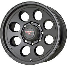 "15x10"" Moab Tracker II Black Finish Jeep TJ/YJ Wrangler/Cherokee Aluminum Wheels"